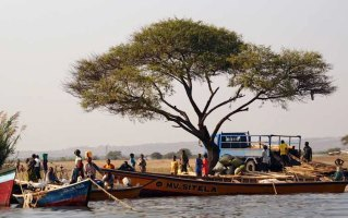 Water traffic in Lake Victoria