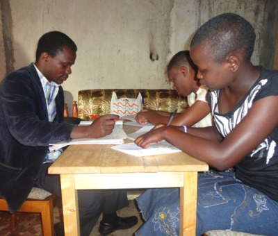 Tutoring during Summer break at our home base
